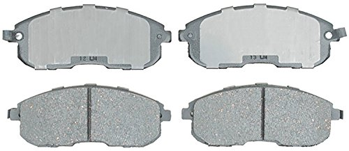 ACDelco 14D815ACH Advantage Ceramic Front Disc Brake Pad Set