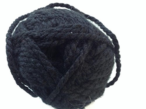 Loops and Threads Yarn Charisma 1 Ball Black 3.5 ounces by Charisma