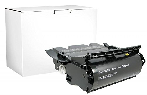 (Inksters Remanufactured Toner Cartridge Replacement for Lexmark Compliant T630/T632/T634/X632/X634 - High Yield (Black))