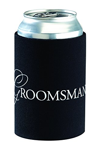 Lillian Rose Groomsman Cup Cozy, 4-Inch