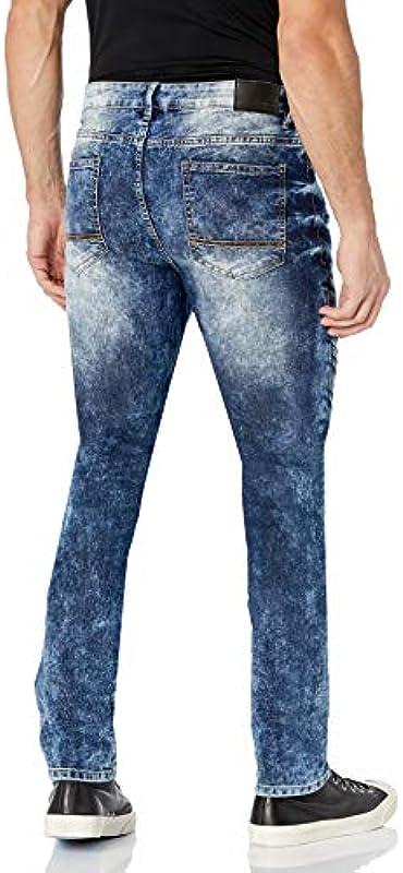 Southpole Męskie Jeans: Odzież