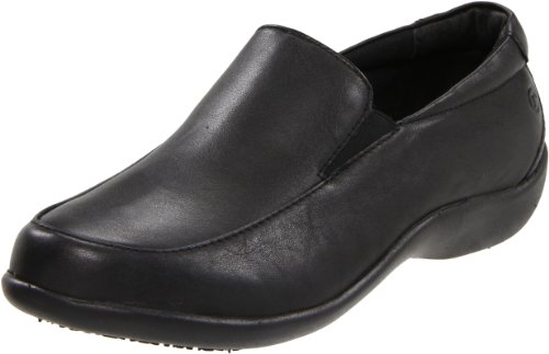 Rockport Leather Clogs - Rockport Work Women's RK605 Nursing Shoe,Black,10.5 W US