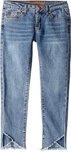 Joe's Jean Girls' Big Mid Rise Stretch Denim Skinny Ankle Jean, Tulip Fray Sienna, 16
