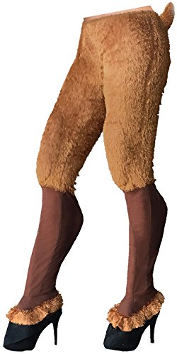 Mythical Creatures Faun Pants Satyr Cosplay Fur Goat Legs Adult Womens (Satyr Costume)