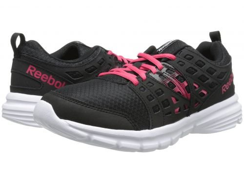 ながら反響する無心Reebok(リーボック) レディース 女性用 シューズ 靴 スニーカー 運動靴 Speed Rise - Black/Blazing Pink/White [並行輸入品]