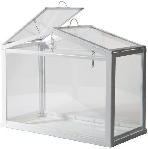 IKEA, de efecto invernadero para interiores/exteriores, color blanco: Amazon.es: Jardín