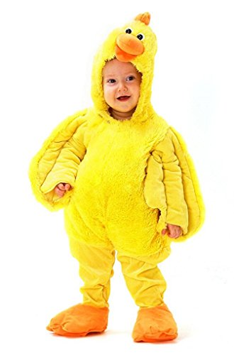 Premium Dancing Chicken Dress-Up Role Play Halloween Costume - plays Chicken Dance Song (Baby/Toddler 12M-18M)