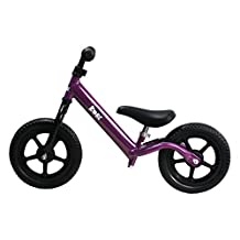 Kobe Aluminum Balance Bike-Lightest Pre-Bicycle on The Market-Ages 18 Months-5 Years-Purple
