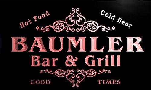 u02691-r BAUMLER Family Name Bar &