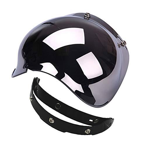 open face helmet chrome - 4
