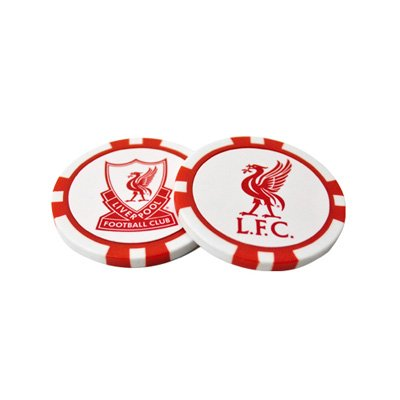 Liverpool FC. Poker Chip marcadores para pelotas de golf: Amazon ...