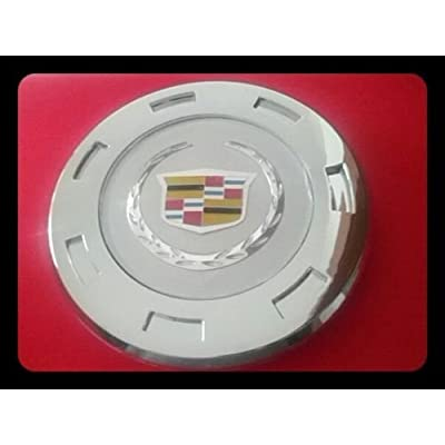 "Replacement ONE 2007-2013 GM CADILLAC ESCALADE COLORED CREST 22"" WHEEL CENTER CAP 9596649: Automotive"