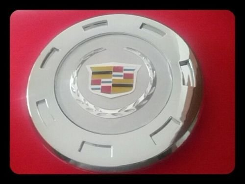 REPLACEMENT PART: ONE 2007-2013 CADILLAC ESCALADE COLORED CREST 22' WHEEL CENTER CAP 9596649