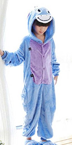 Jadeys Children's Animal Costume Onesies Sleepers Pyjamas by (Donkey, Extra (Childs Brown Donkey Costume)