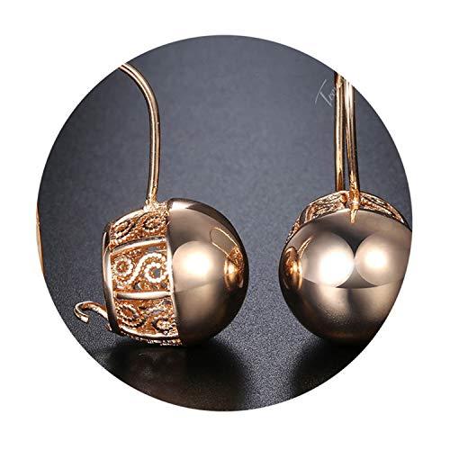 Earrings for Women Girls 585 Rose Gold Earrings Jewelry Wedding Gifts for ()