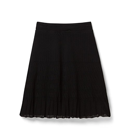 Theory Black Miniray Skirt In Slinky, Small