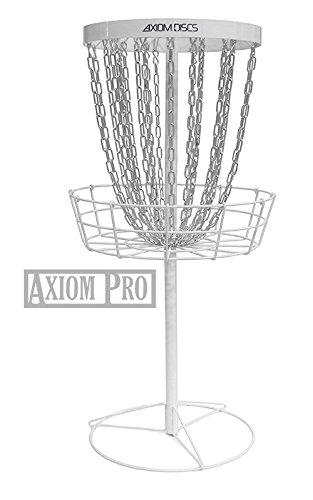 Axiom Discs Pro 24-Chain Disc Golf Basket - White