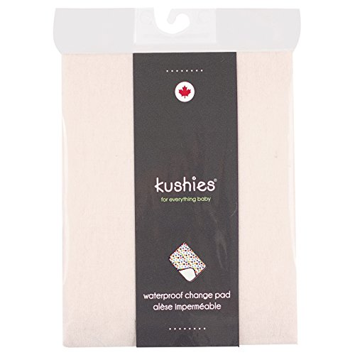 Kushies Baby Deluxe Change Pad, Natural Solid