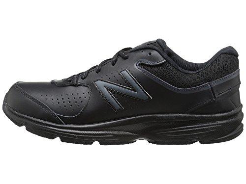 (ニューバランス) New Balance レディースウォーキングシューズ?靴 WW411v2 Black 10 (27cm) D - Wide