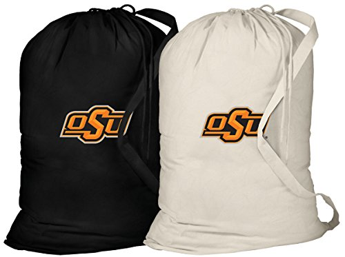 Oklahoma State Tote Bag - Broad Bay Oklahoma State Laundry Bag -2 Pc Set- OSU Cowboys Clothes Bags