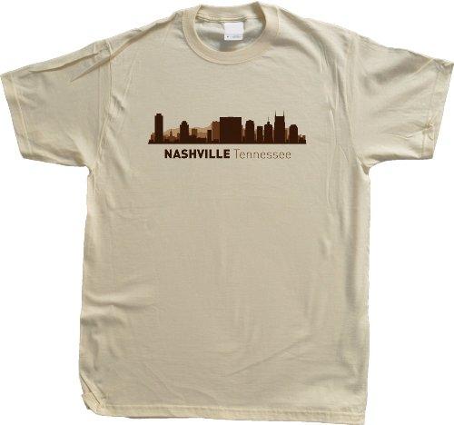 Nashville, TN City Skyline Unisex T-shirt Tennessee Hometown Pride Tee