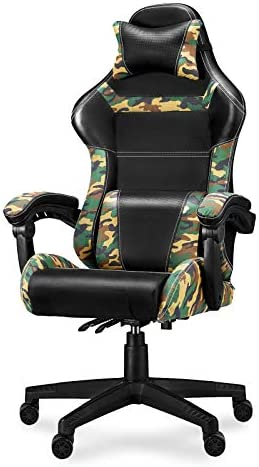 Gaming Chair Camo Video Game Chairs Camouflage Office Tall Back Chair - the best video game chair for the money