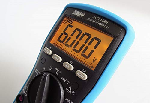 - ACT 6000 Alarm Troubleshooting Digital Multimeter