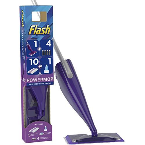 FLASH Powermop Starter Kit All-In-One Dual Spray Mop + 10 Pads