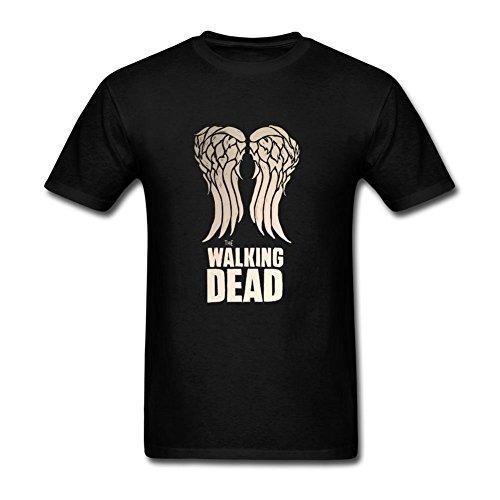 ONEPICE Men's Walking Dead Wall Decal Sticker Short Sleeve T Shirt