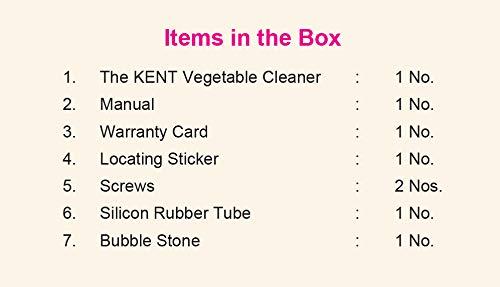 Kent Counter Top Vegetable & Fruit Disinfectant kida.in