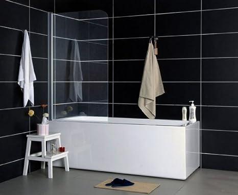 Vasca Da Bagno Con Vetro : Inserto per vasca da bagno separatore doccia con vetro trasparente