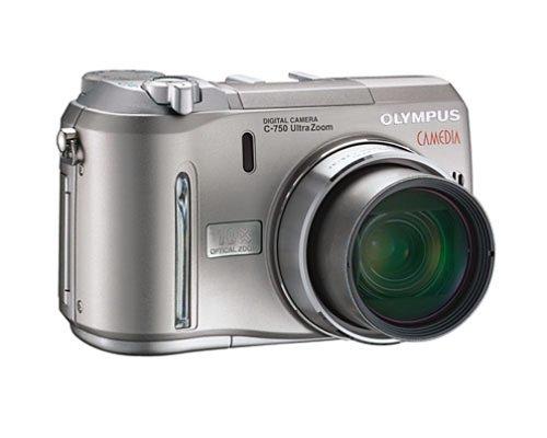 Olympus C-750 4MP Digital Camera w/ 10x Optical Zoom