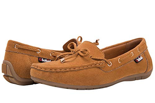 (GLOBALWIN Women's Wheat Loafer Shoes 10 M US)