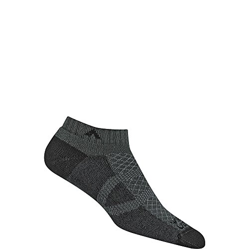 Wigwam Men's Cl2 Pro Low Cut Midweight Ultimax Run Sock, charcoal, XL