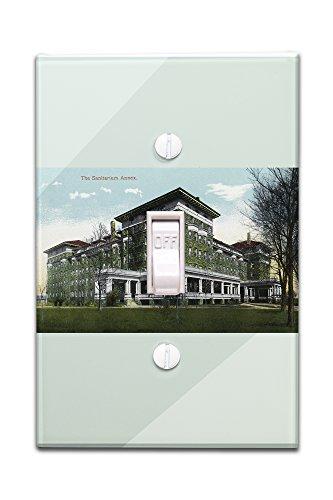 battle-creek-michigan-sanitarium-annex-scene-light-switchplate-cover