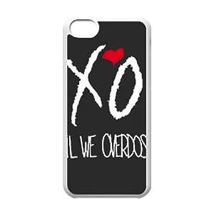 iPhone 5C Phone Cases White The weeknd Xo CKL831036