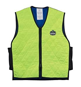 Ergodyne Chill-Its 6665 Evaporative Cooling Vest - Lime, Large
