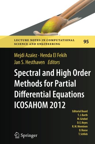 Spectral and High Order Methods for Partial Differential Equations - ICOSAHOM 2012: Selected papers from the ICOSAHOM co