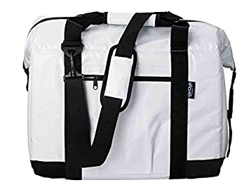 NorChill 24 Can Marine Boatbag Soft Cooler, White