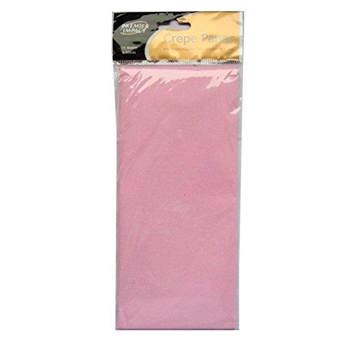 Crepe Paper 1.5M x 50cm Premier Impact Pink