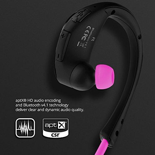 cf653e450c3 Mpow Cheetah Bluetooth Headphones IPX5 Waterproof & 8-Hour Playtime, V4.1  aptX