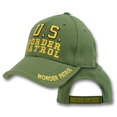 Border Patrol Baseball Hat - inf Infinity Superstore Embroidered Green US Border Patrol Military Hat Ball Cap