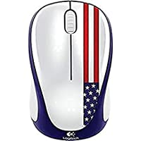 Logitech M317C Wireless Advanced Optical Mouse (American Flag)