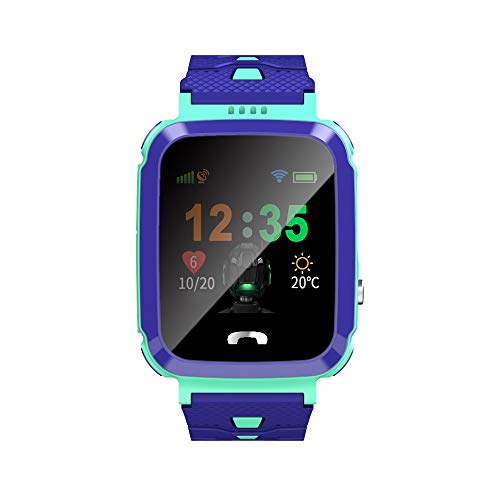 (Lovescenario Kids Smart Watch Phone smartwatches for Children with GPS Tracker sim Card Anti-Lost sos Call Boys and Girls Birthday)