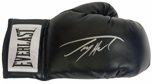 Larry Holmes Autographed/Hand Signed Everlast Black Boxing Glove