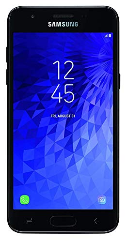 Samsung Galaxy J3 (2018) J337A 16GB Unlocked GSM 4G LTE Phone w/ 8MP Camera - Black (Renewed) (Iphone 4 100 Dollars)