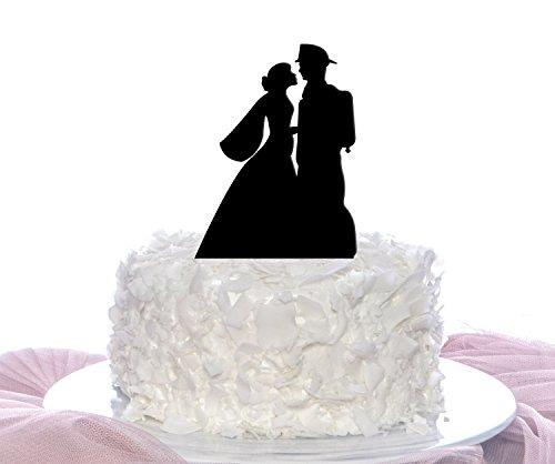 Couple Firefighter Cake Topper, Wedding Cake Topper