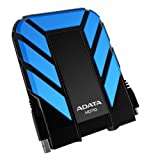 ADATA HD710 1TB USB 3.0 Waterproof/ Dustproof/ Shock-Resistant External Hard Drive, Blue (AHD710-1TU3-CBL)