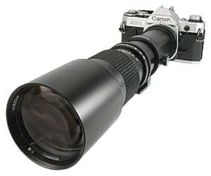 500mm ROKINON MF Telephoto for CANON FD mount, A-1, AE-1, AE-1 Prog