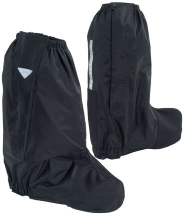 Tour Master Deluxe Boot Rain Covers - (Chrome Heel Toe Boots)